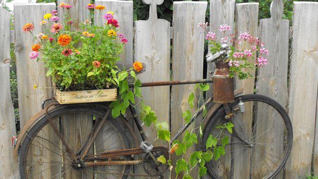 gartendeko: rost als neuer dekotrend - sat.1 ratgeber, Garten ideen