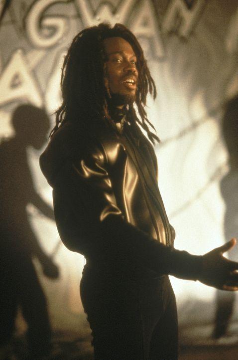 In der Drogenszene ist er kein unbeschriebenes Blatt: der Jamaikanischer Screwface (Basil Wallace) ... - Bildquelle: 1990 Twentieth Century Fox Film Corporation.