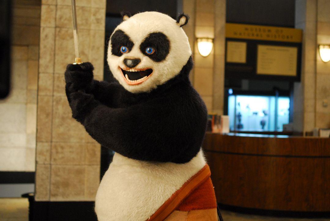 Mit ihm ist nicht gut Bananen essen: Kung Fu Panda (Yoshio Lizuka) ... - Bildquelle: Constantin Film Verleih