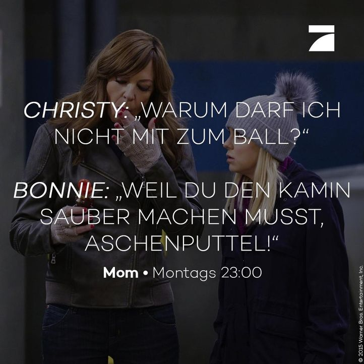 Christy und Bonnie - Staffel 3 Episode 9 - Bildquelle: 2016 Warner Bros. Entertainment, Inc.