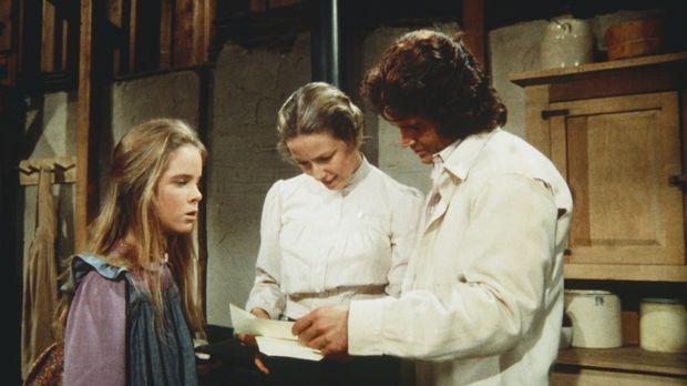 Mary (Melissa Sue Anderson, l.) soll an einem Mathematik-Wettbewerb in der St...