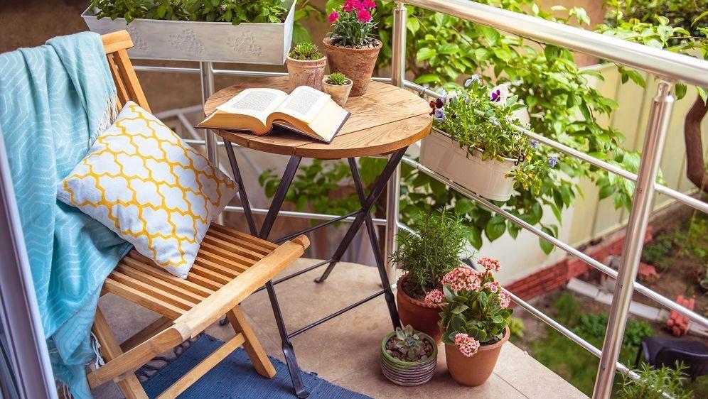 Wie Gestalte Ich Einen Kleinen Balkon balkon luxus auf 3 quadratmetern