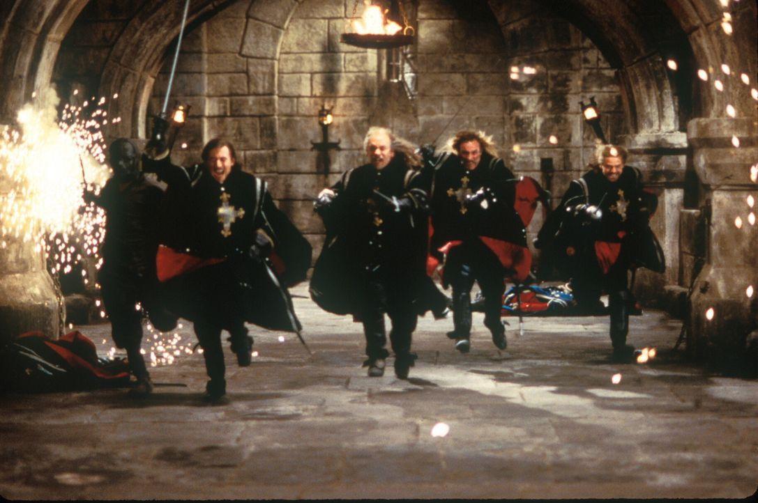 Die Musketiere, benannt nach ihrer ursprünglichen Hauptwaffe, der Muskete, sind die Leibgardisten des Königs von Frankreich. Doch die Verschwendungs... - Bildquelle: 1998 UNITED ARTISTS PICTURES INC. All Rights Reserved