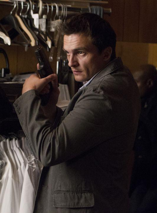 Ist Brody gegenüber misstrauisch: Peter Quinn (Rupert Friend) ... - Bildquelle: 20th Century Fox International Television