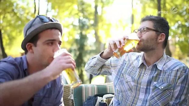 trends video bier ist gesund und das sind die gr nde sat 1. Black Bedroom Furniture Sets. Home Design Ideas