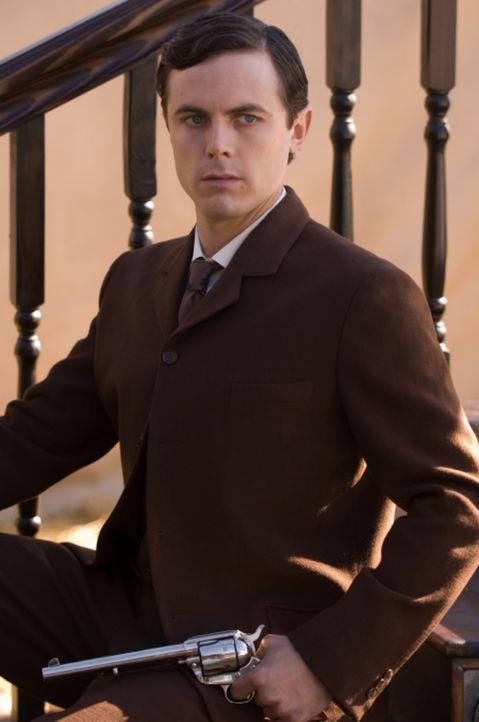 Robert Ford (Casey Affleck) verehrt Jesse James seit seiner Kindheit, doch dieser hat für ihn nur Hohn und Spott übrig. Allmählich erkennt Robert... - Bildquelle: TM and   2007 Warner Bros. Entertainment Inc. All Rights Reserved.