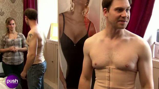 Push Das Sat 1 Magazin Video Bauch Weg Unterwasche Fur Manner