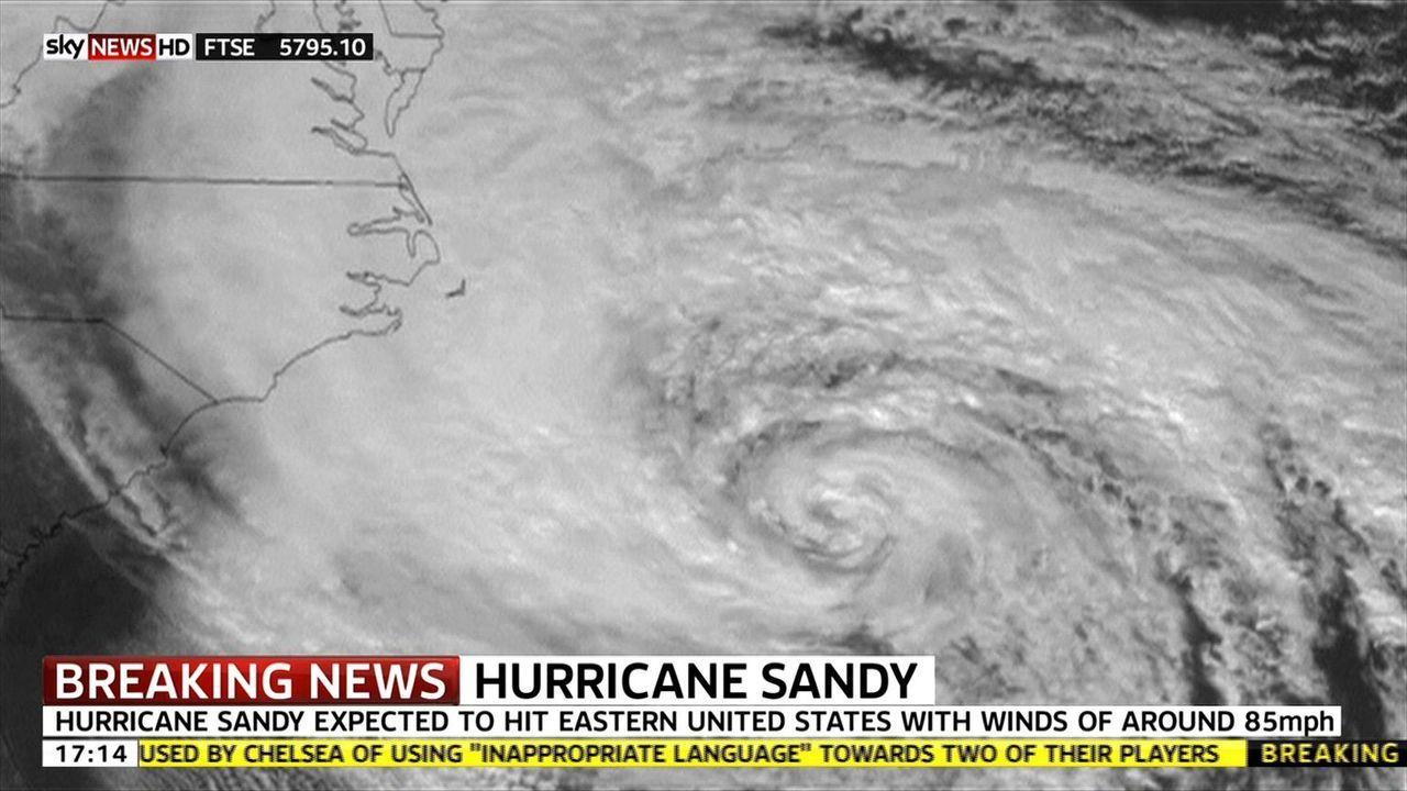 Wetter außer Kontrolle: Naturkatastrophen gab es schon immer, doch seit geraumer Zeit machen Superstürme wie Hurrikan Sandy den Menschen in betroffe... - Bildquelle: 2012 SKY VISION in association with SKY NEWS ALL RIGHTS RESERVED.