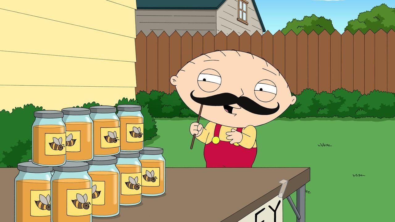 Stewie schmiedet einen perfiden Plan, um die Bienen zu ermutigen, mehr Honig zu produzieren und ihm so mehr Profit beim Verkauf zu bescheren ... - Bildquelle: 2016-2017 Fox and its related entities.  All rights reserved.