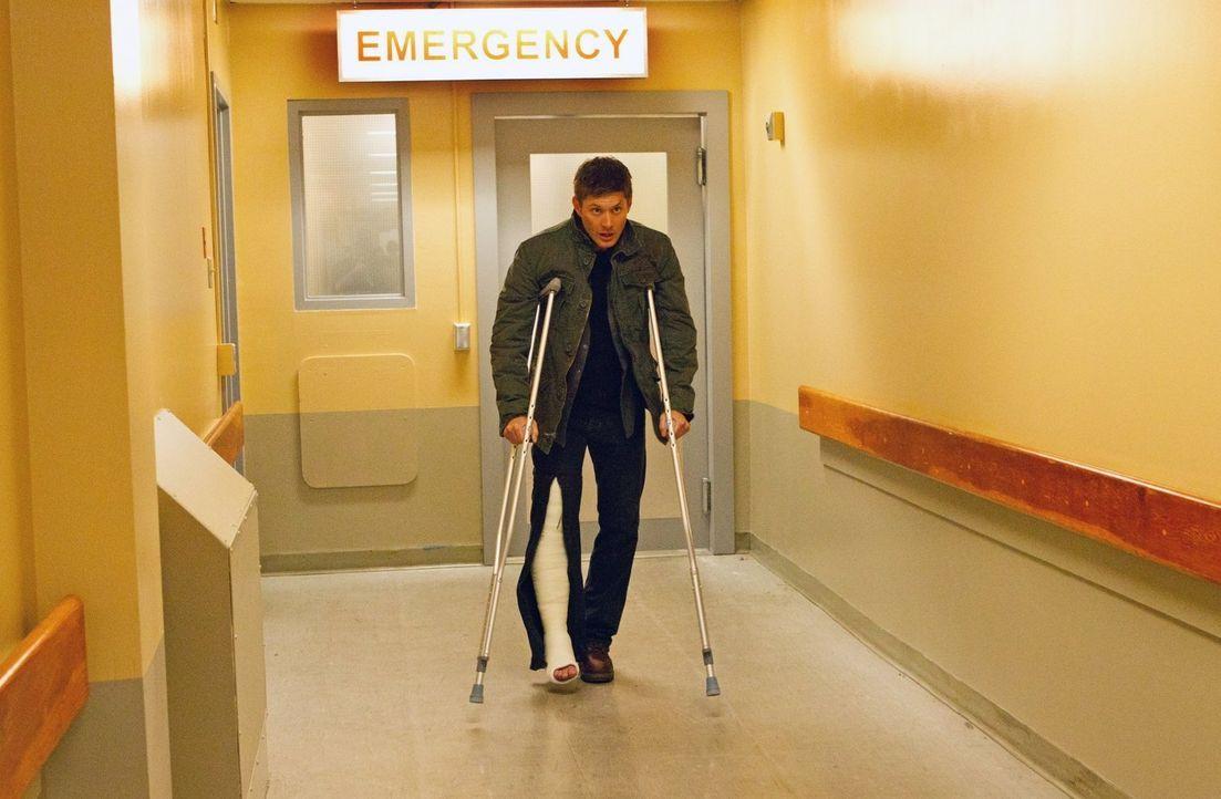 Muss schnellstmöglich aus dem Leviathan-Krankenhaus, bevor es zu spät ist: Dean (Jensen Ackles) ... - Bildquelle: Warner Bros. Television