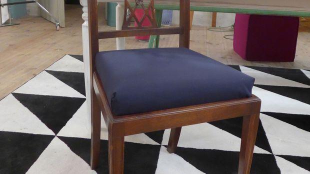 ein accessoire f r den stuhl diy anleitung aus handmade mit enie. Black Bedroom Furniture Sets. Home Design Ideas
