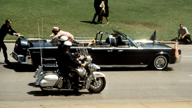 Der Moment, in dem die Welt den Atem anhält: John F. Kennedy wird am 22. Nove...