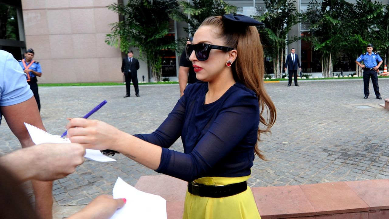 Lady-Gaga-2012-11-26-AFP - Bildquelle: AFP