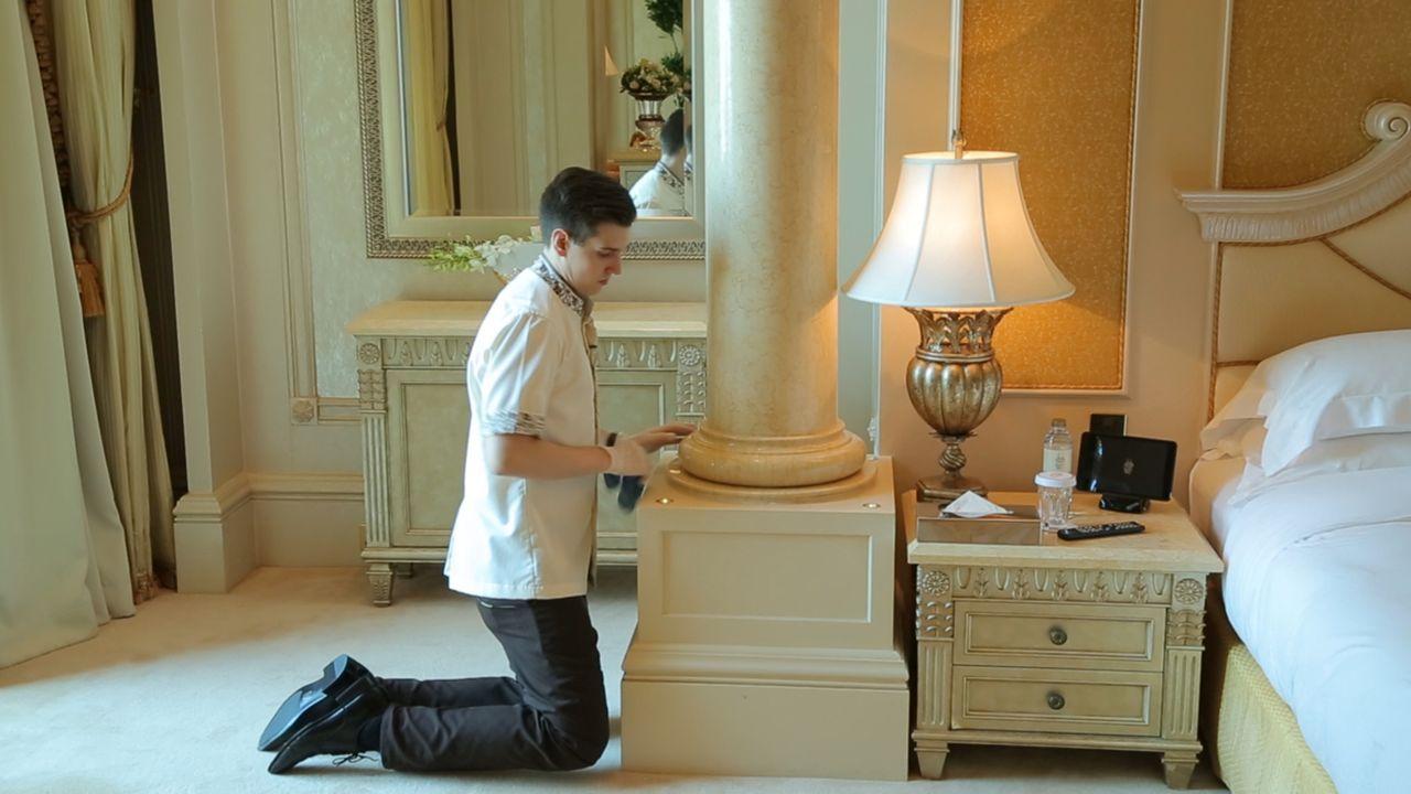 Auf einer Fläche von einer Millionen Quadratmetern gibt es im Emirates Palace die volle Dröhnung Luxus. - Bildquelle: SAT.1