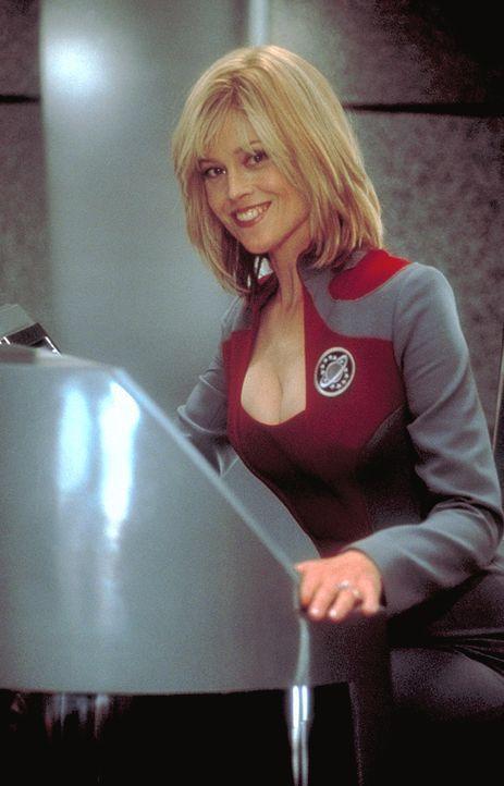 """Eines Tages vergeht Gwen DeMarco (Sigourney Weaver), ehemaliger Star der klassischen Science Fiction-Serie """"Galaxy Quest"""", das Lachen ... - Bildquelle: DreamWorks Distribution LLC"""