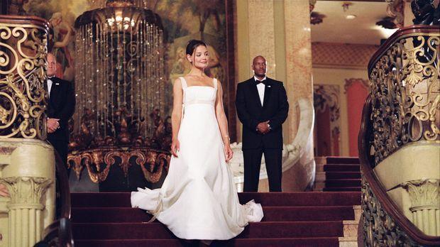 Samantha (Katie Holmes, M.) ist die Tochter des amerikanischen Präsidenten. S...