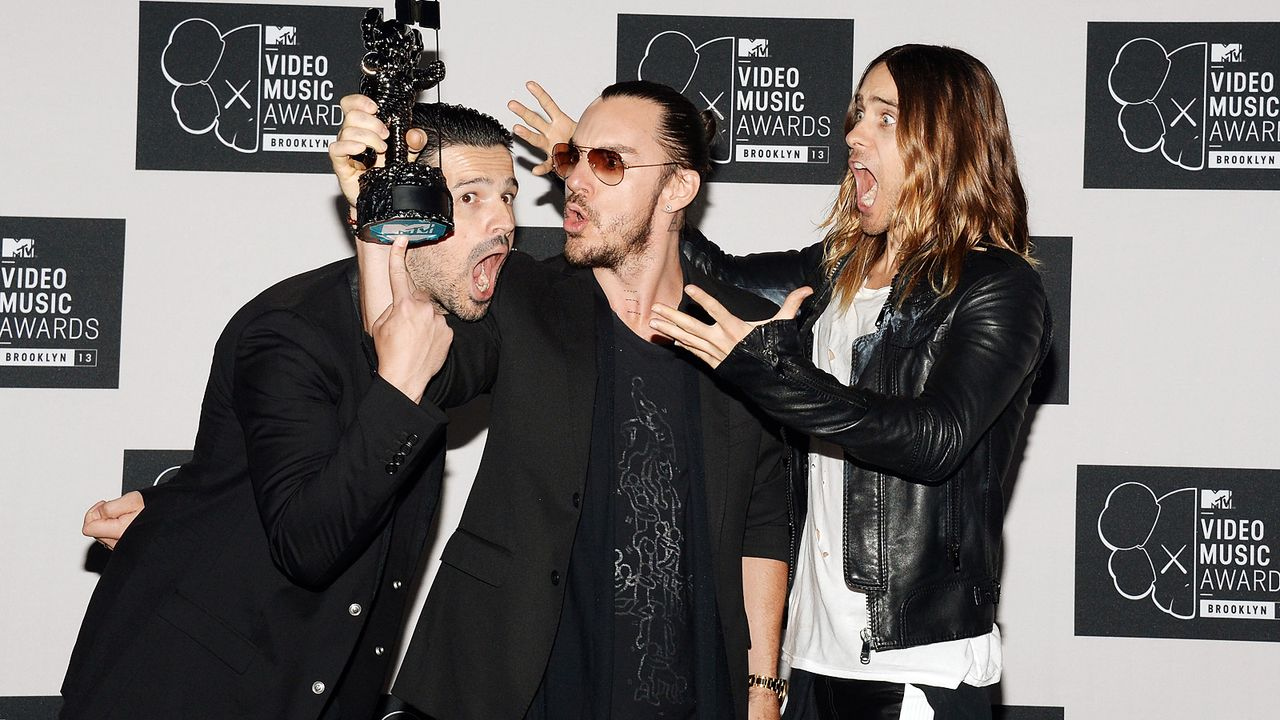 MTV-Music-Video-Awards-Thirty-Seconds-to-Mars-130825-getty-AFP - Bildquelle: getty-AFP