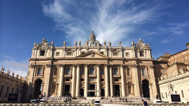 Der Vatikan - Hauptsitz der Katholischen Kirche und Zuhause des Papstes. Dies...