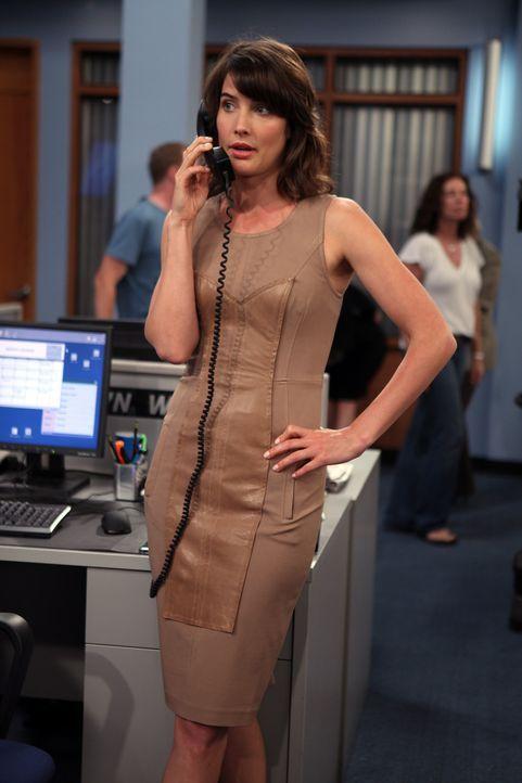 Ist eifersüchtig auf Barney und Nora und hat deshalb einen hinterhältigen Plan: Robin (Cobie Smulders) ... - Bildquelle: 20th Century Fox International Television