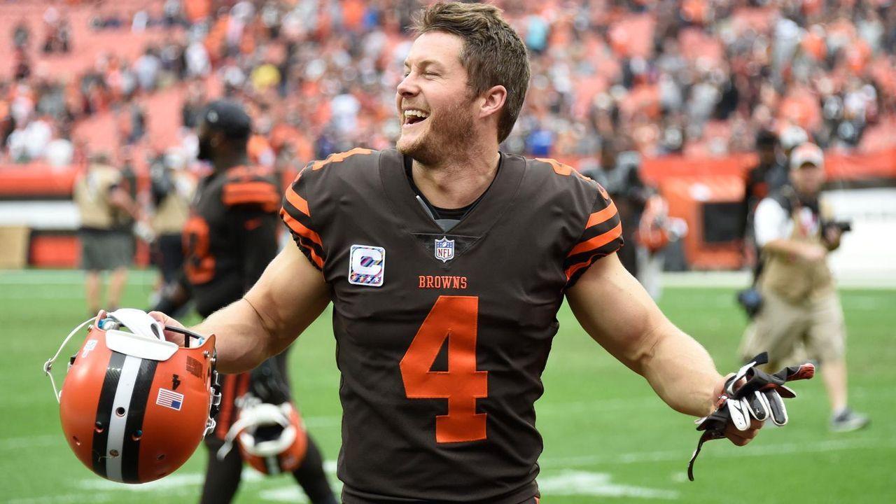 Punter: Britton Colquitt (Cleveland Browns) - Bildquelle: Getty