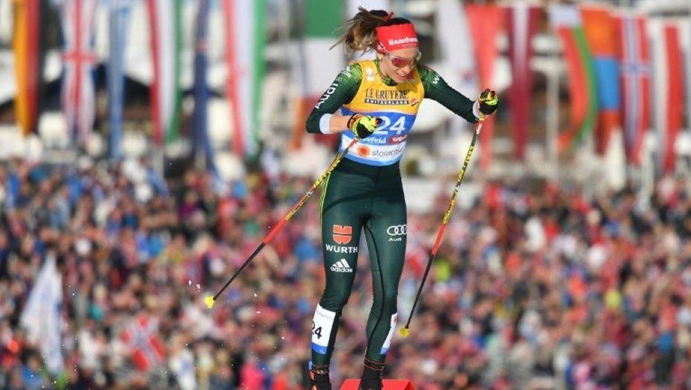 Pia Fink als 33. beste Deutsche in Falun/Schweden - Bildquelle: AFPSIDJOE KLAMAR
