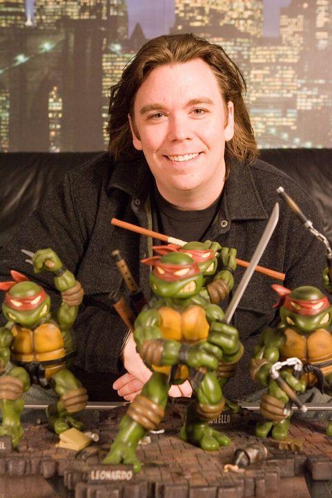 "Kevin Munroe, Regisseur des voll computeranimierten Kinofilms ""Teenage Mutant Ninja Turtles"". - Bildquelle: TOBIS Filmkunst GmbH"