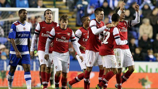30. Oktober 2012: Reading - FC Arsenal 5:7 - Bildquelle: 2012 Getty Images