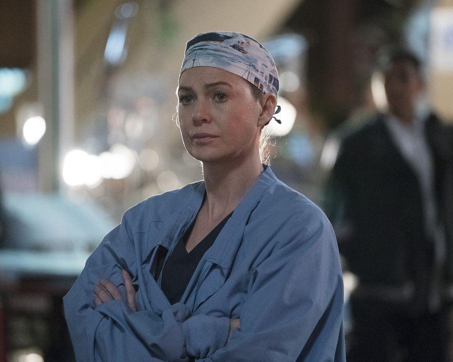 Auf Meredith (Ellen Pompeo) und Nathan kommen entscheidende Neuigkeiten zu, die so einiges in ihrer Beziehung verändern werden ... - Bildquelle: 2017 American Broadcasting Companies, Inc. All rights reserved.