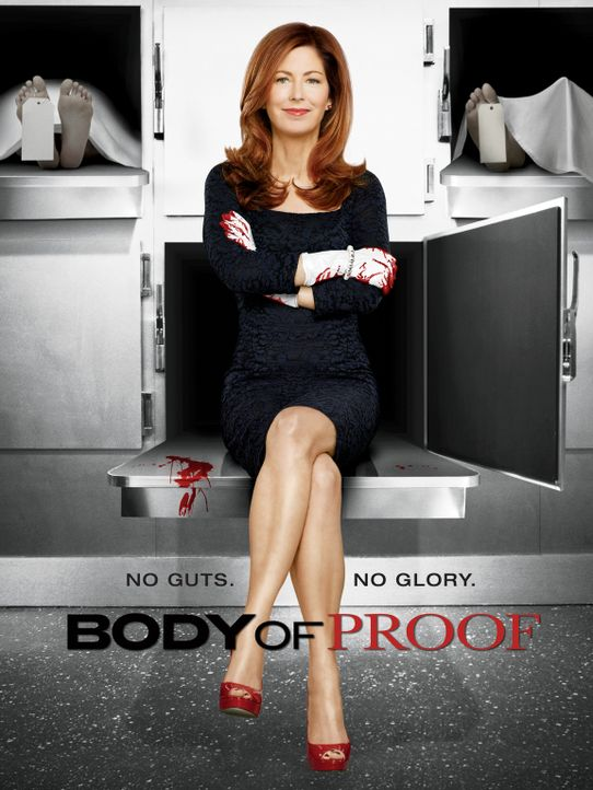 "(3. Staffel) - ""Body of Proof"" - Plakatmotiv - Bildquelle: ABC Studios"