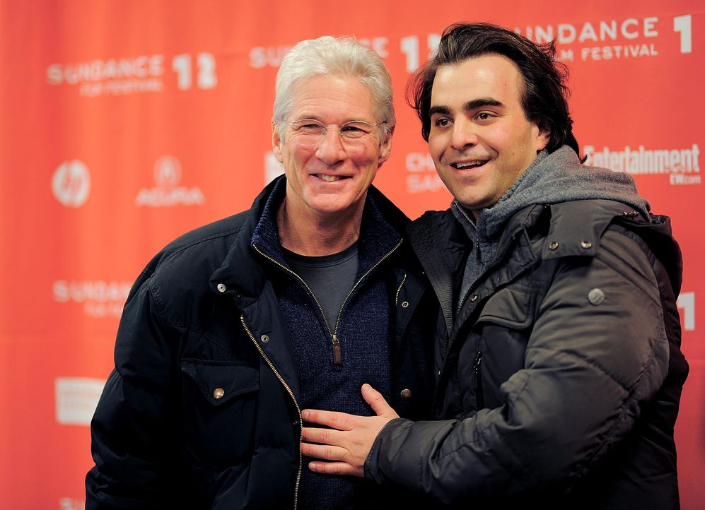 sundance-film-festival-12-01-21-richard-gere-nicholas-jarecki-getty-afpjpg 1900 x 1376 - Bildquelle: getty-AFP