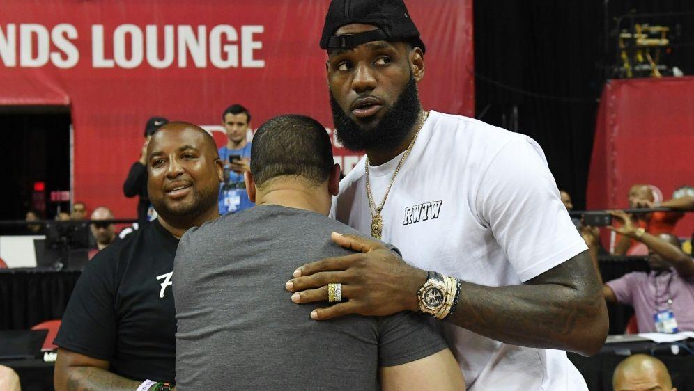 LeBron James kehrt im November nach Cleveland zurück - Bildquelle: GETTY AFPSIDEthan Miller