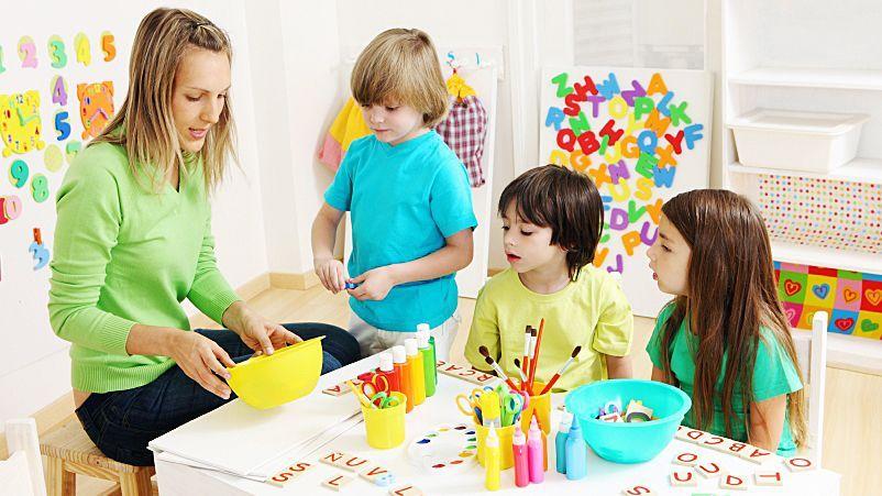 Kindergarten kreativ - Bildquelle: iStockphoto