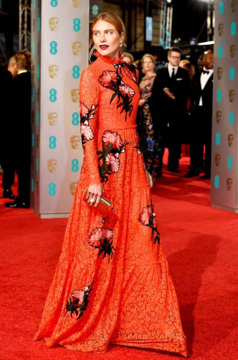 BAFTA-160214-15-dree-hemingway-dpa - Bildquelle: dpa