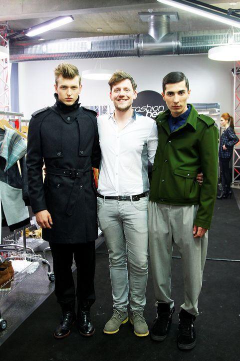 Fashion-Hero-Epi03-Atelier-93-Pro7-Richard-Huebner - Bildquelle: Richard Huebner