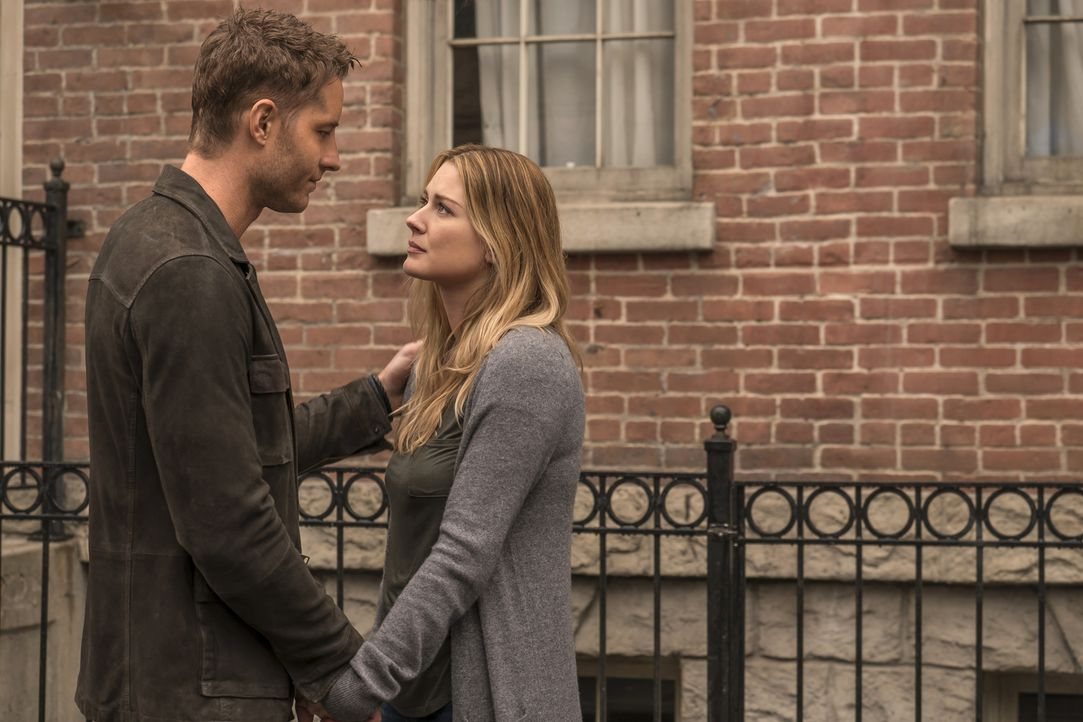 Hat ihre Liebe wirklich eine Chance? Kevin (Justin Hartley, l.) und Sophie (Alexandra Breckenridge, r.) ... - Bildquelle: Ron Batzdorff 2016-2017 Twentieth Century Fox Film Corporation.  All rights reserved.   2017 NBCUniversal Media, LLC.  All rights reserved.