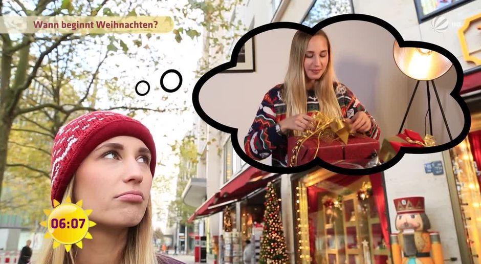 Frühstücksfernsehen - Video - Weihnachtsstimmung im November - Sat.1