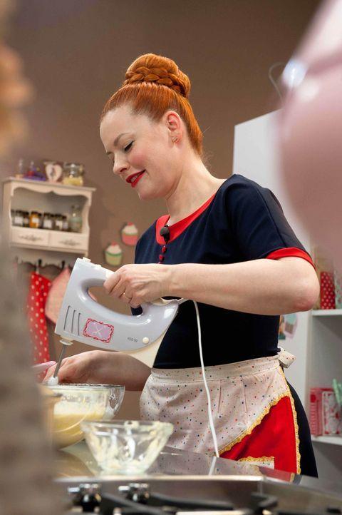 Jedes ihrer Rezepte wird auf einzigartige Weise von Enie van de Meiklokjes umgesetzt und jeder Kuchen, jede Torte, jedes Brot und jede Käse Stange... - Bildquelle: Claudius Pflug sixx