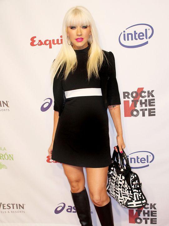 Christina-Aguilera-08-09-25-getty-AFP - Bildquelle: getty-AFP