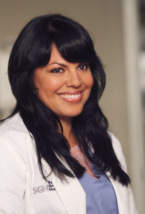 Ist glücklich darüber, sich wieder mit George versöhnt zu haben: Callie (Sara Ramirez) ... - Bildquelle: Touchstone Television