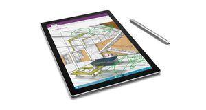 Surface Pro 4 und Surface Stift im Einsatz