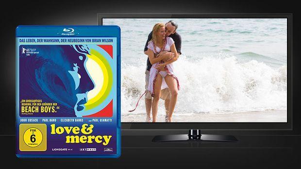 Love & Mercy - Blu-ray Cover und Szenenbild © Arthaus / STUDIOCANAL