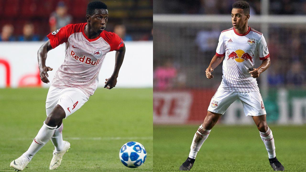 Amadou Haidara (RB Salzburg) und Tyler Adams (New York Red Bulls) - Bildquelle: Getty Images/Imago