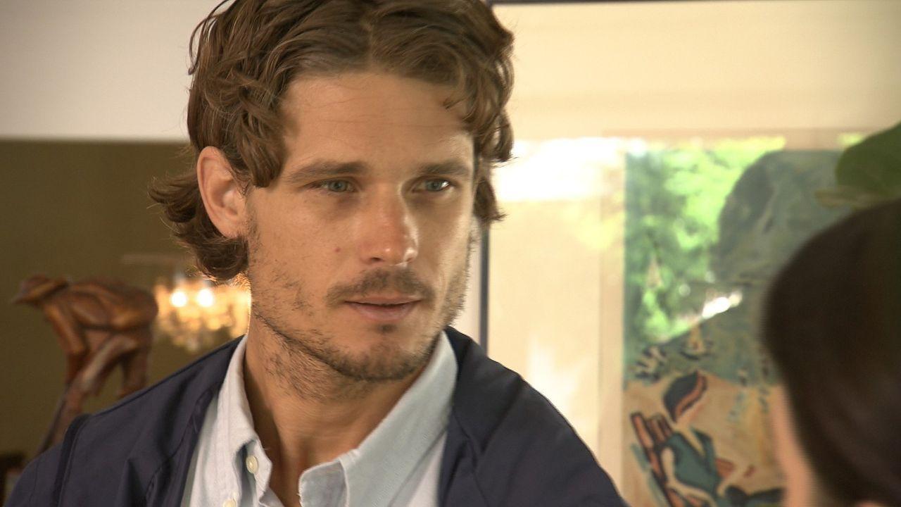 Christian Lennart (Bild) unterstellt seiner Frau, die sich inzwischen von ihm getrennt hat, dass Max nicht sein leiblicher Sohn ist ... - Bildquelle: SAT.1