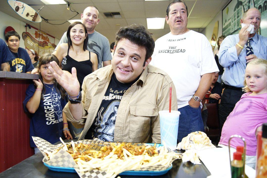 Adam Richman reist auf der Suche nach kulinarischen Köstlichkeiten durch ganz Amerika. Diesmal macht er sich auf die Suche nach Lokalen, die für ihr... - Bildquelle: 2010, The Travel Channel, L.L.C.