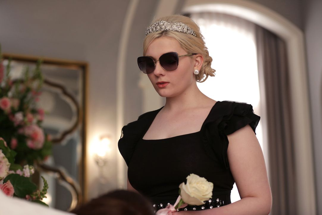 Wird Chanel #5 (Abigail Breslin) dem Plan zustimmen, der verhindern soll, dass weitere Menschen getötet werden? - Bildquelle: 2015 Fox and its related entities.  All rights reserved.