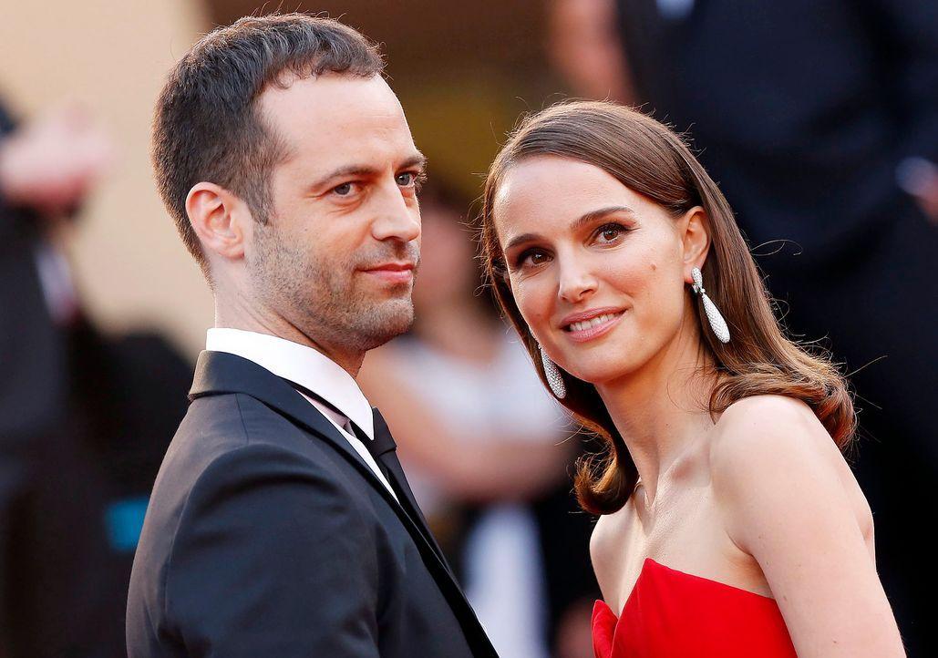 Cannes-Film-Festival-Natalie-Portman-Benjamin-Millepied-150513-dpa - Bildquelle: dpa