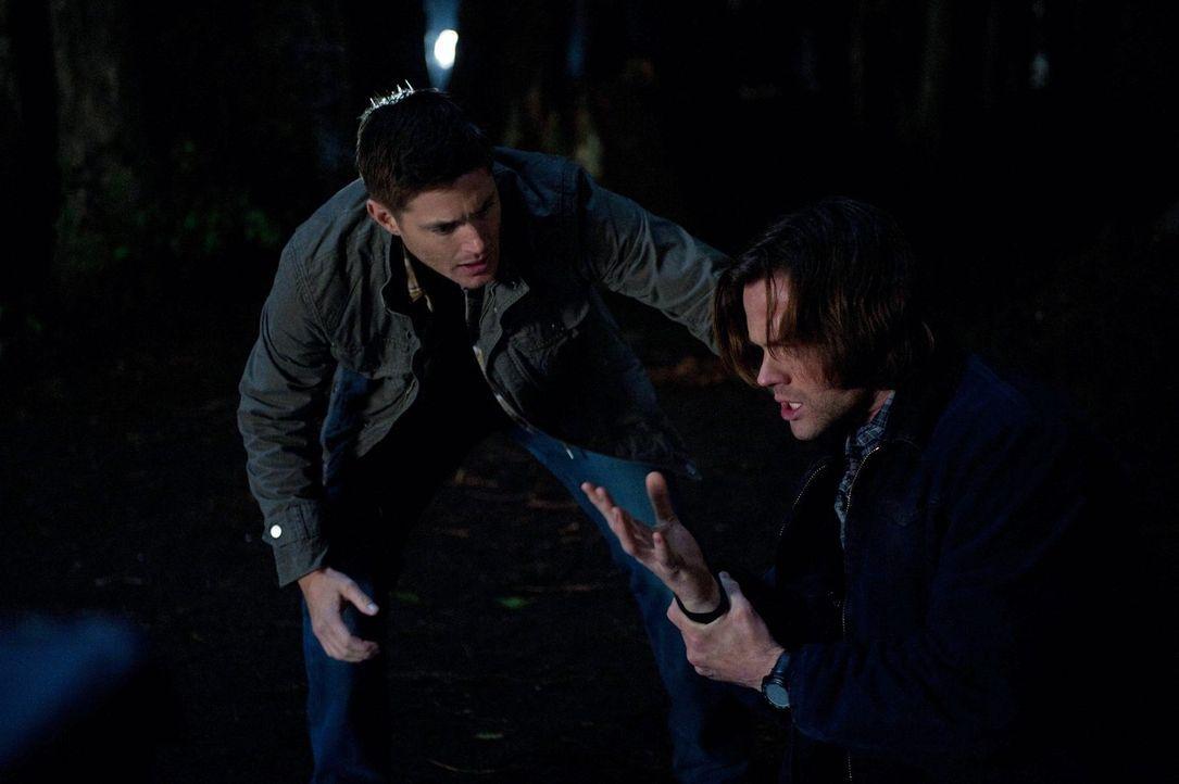Wie stark Sam (Jared Padalecki, r.) die zweite Aufgabe zusetzen wird, ahnen weder er noch Dean (Jensen Ackles, l.) ... - Bildquelle: Warner Bros. Television
