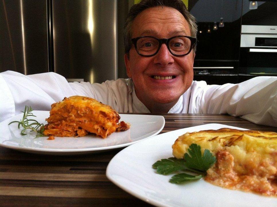 Dirk Hoffmann, rheinische Frohnatur aus Düsseldorf, macht die Kochprobe aufs Exempel: Gaumenschmaus oder Gaumengraus im internationalen Zweigang-Me... - Bildquelle: kabel eins