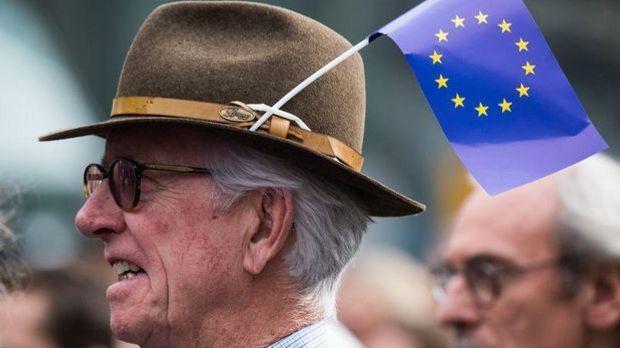 Kundgebung von Pulse of Europe