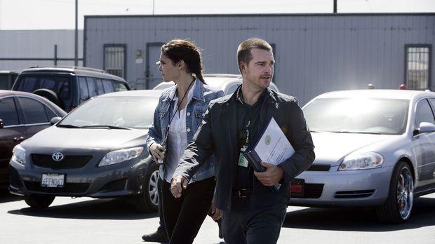 Undercover ermitteln Special Agent G. Callen (Chris O'Donnell, r.) und Specia...